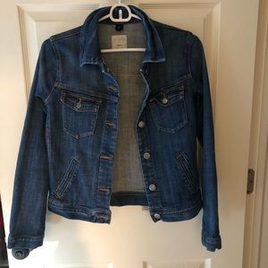 Womes J Crew Denim Jacket xxs